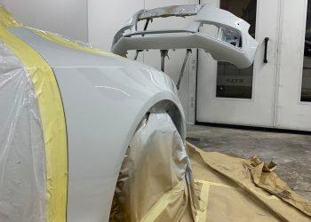 Audi A5 S Line Cabriolet Paint Applied