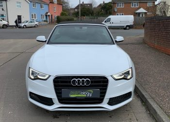 Audi A5 S Line Front Bumper/Offside Front Wing Repair Completed