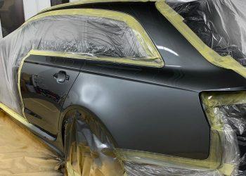 Audi RS6 Advant Paint Applied