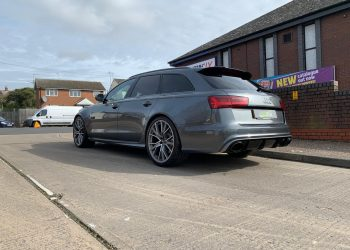 Audi RS6 Advant Rear Quarter Panel Completed