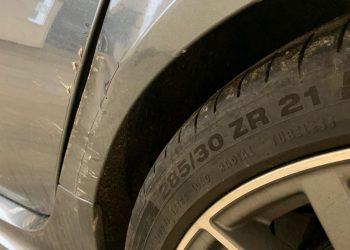 Audi RS6 Advant Rear Quarter Panel Damage