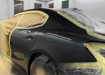 Maserati Ghibli SQ4 Gransport Paint Applied