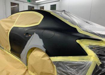 Maserati Ghibli SQ4 Gransport Ready For Paint Application