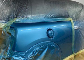 Mini Cooper S JCW Paint Applied