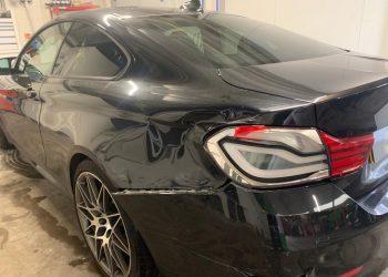 Bmw M4 Competition Rear Quarter Repair